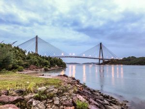 Travel Batam Singapore 3 Days 2 Nights. Batam Island Singapore Barelang Bridge Batam Island. Credit: BatamGetaway.com