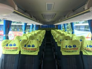 Batam Bus Rental. Charter bus in Batam Bus 40 seater