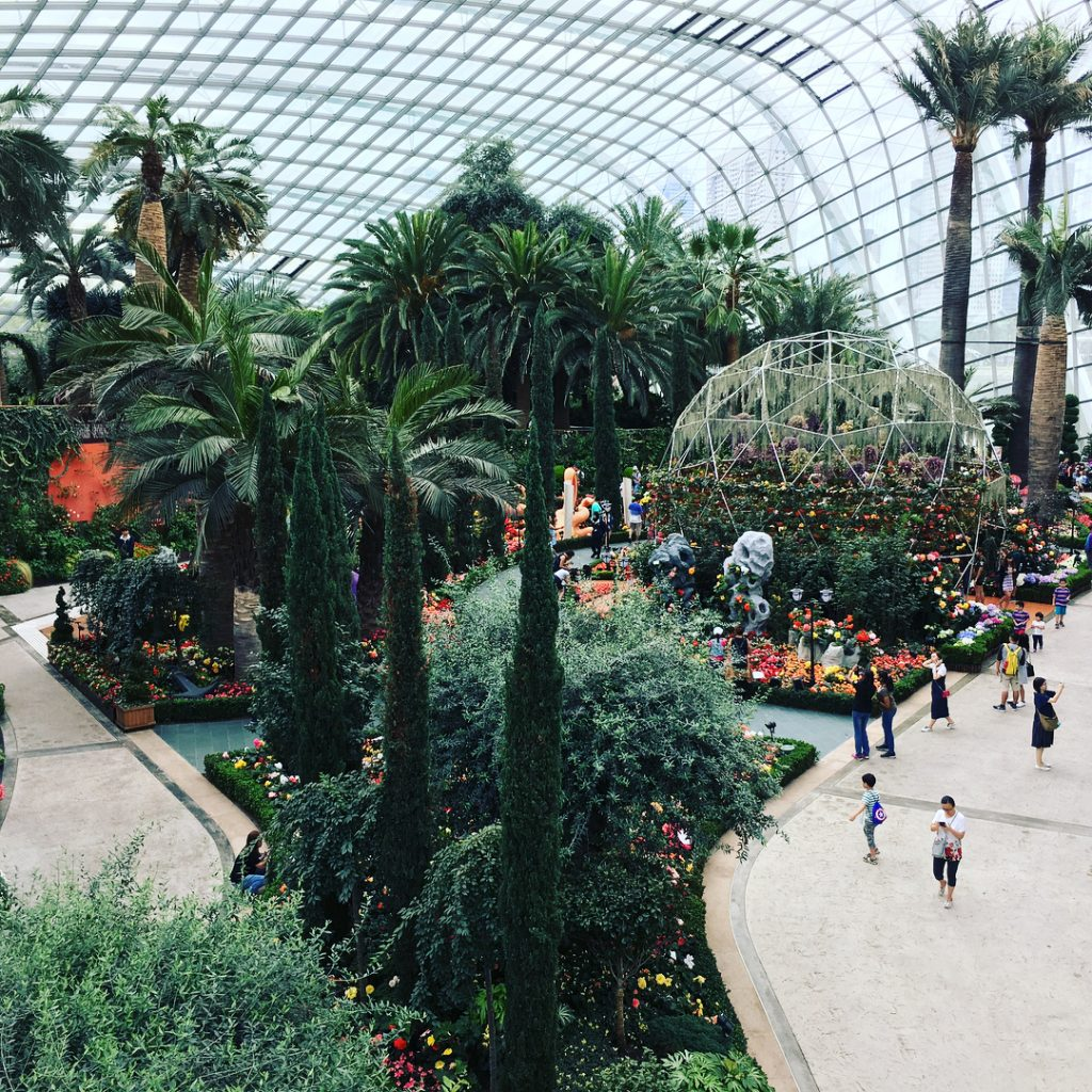 Flower Dome Gardens by the bay price. Gardens by the bay opening hours