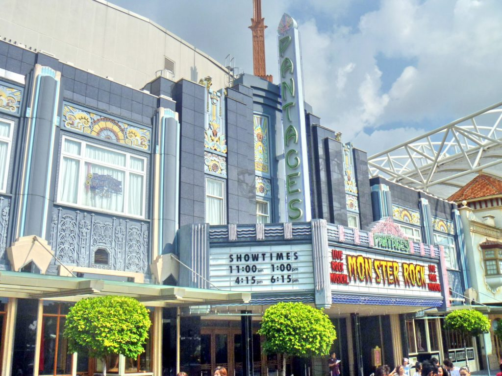 Wahana universal studios Singapore lengkap pantages hollywood