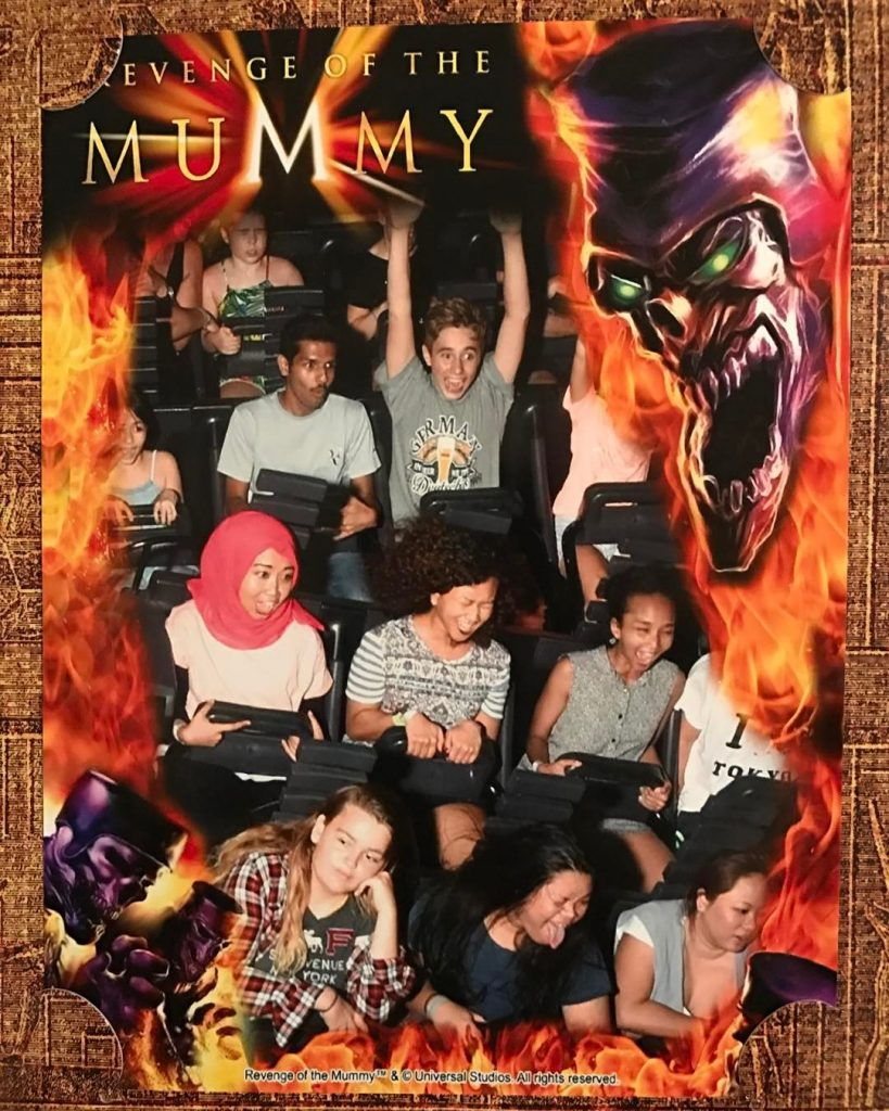 Wahana universal studios Singapore lengkap revenge of the mummy