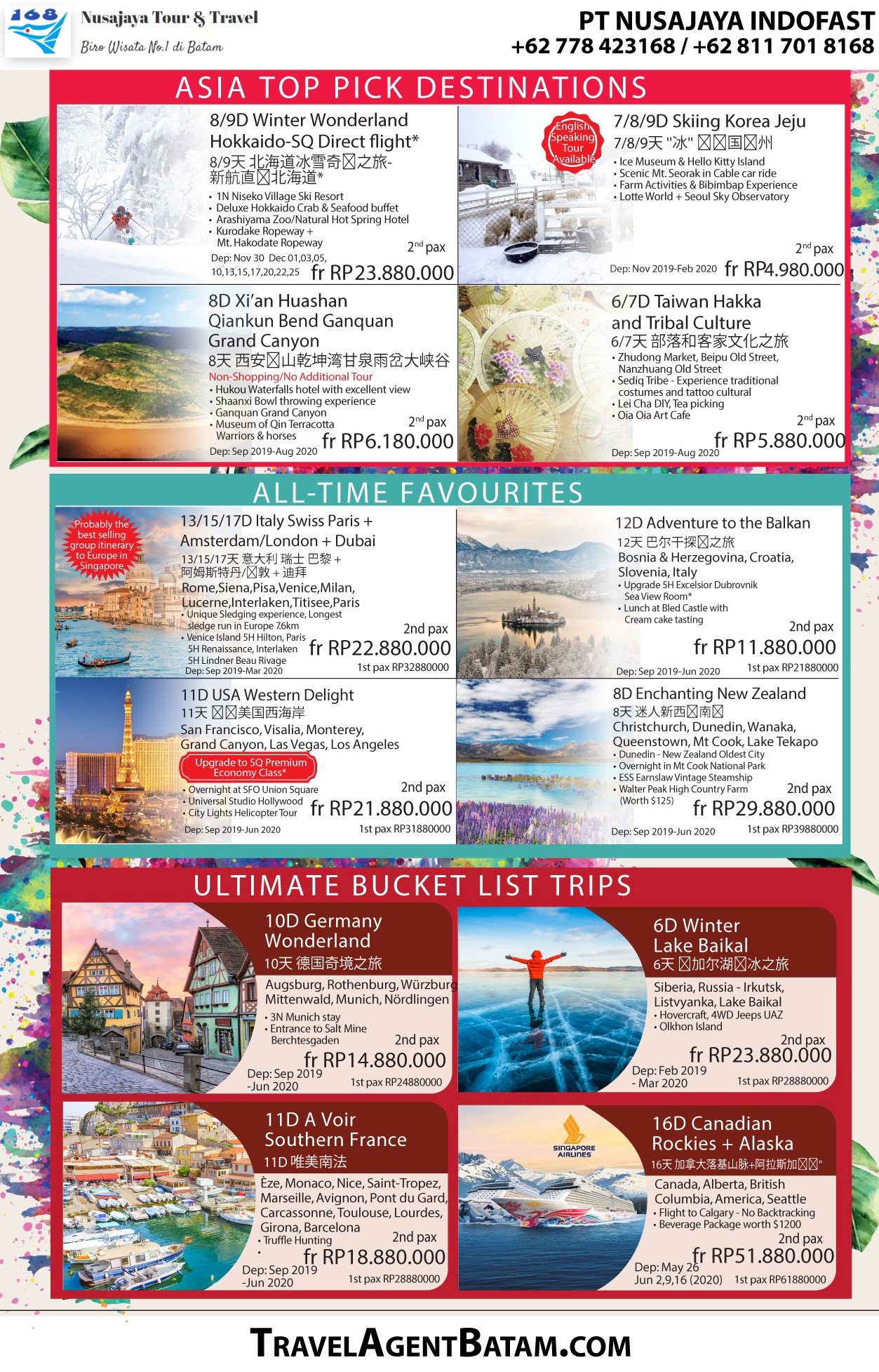 Travel Agent Batam - Batam Travel Fair 2019 - 2